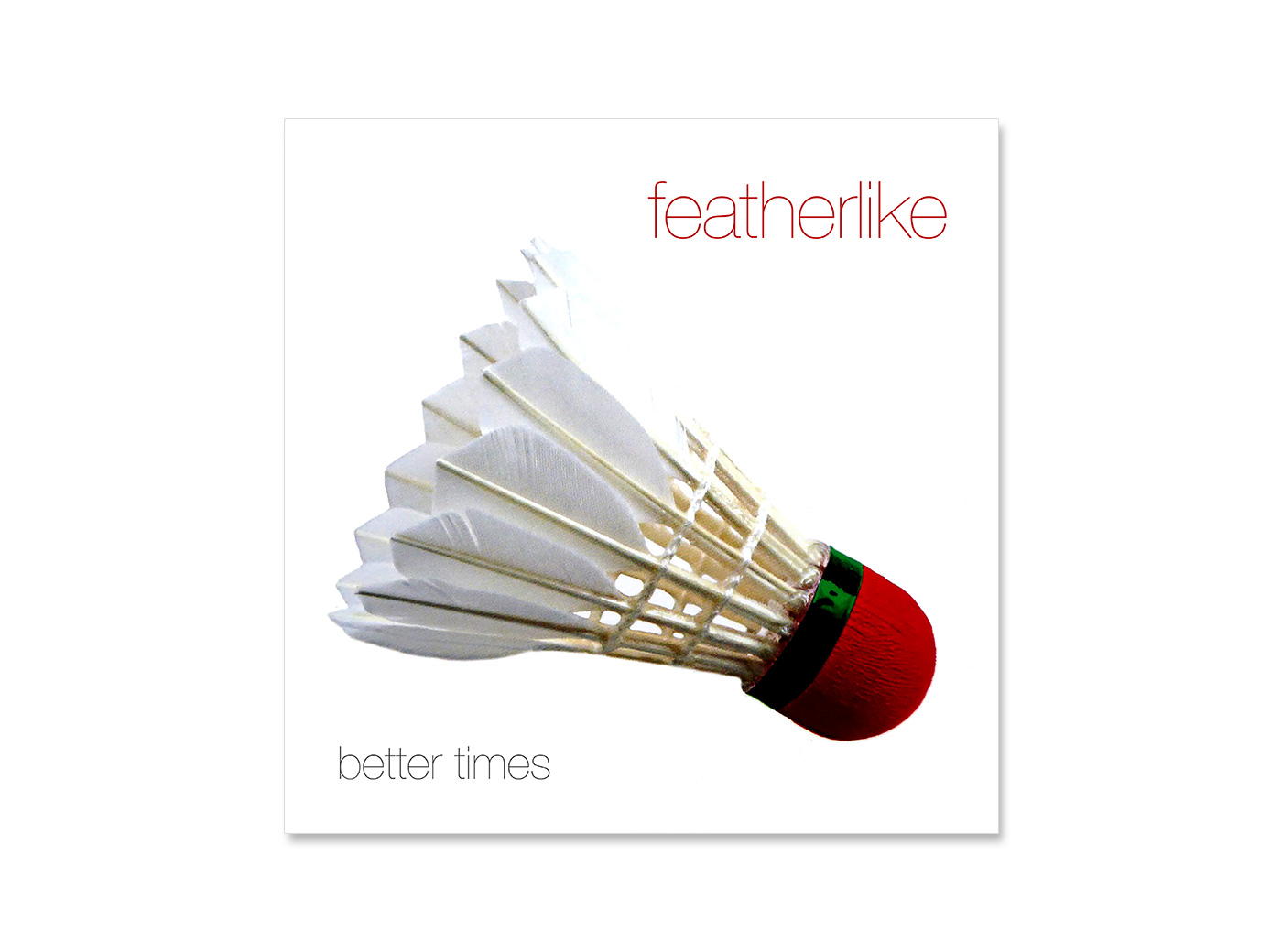 CD-Cover, Featherlike, Band